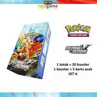 Booster Box Pedang & Perisai Set A - Kartu Pokemon TCG Indonesia SC1a