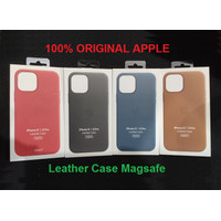 Apple Leather Case Magsafe iPhone 12 12 Pro Cover Original 100%