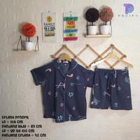 Pacify Baju Tidur dan Piyama Wanita Theme Grey Flaminggo - SHORT PANTS
