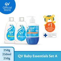 [Bundle] - QV Baby Gentle Wash & Baby Bath Oil & Moisturising Cream