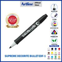 ARTLINE Spidol Supreme Decorite Bullet Nib Marker EDF-1