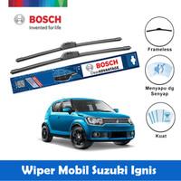 "Bosch Sepasang Wiper Mobil Suzuki Ignis Frameless Advantage 20"" & 18"""