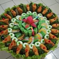 Kue Tampah Jajanan Pasar isi 100 s.d 125 pcs