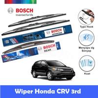 Bosch Wiper Mobil Honda CRV 3rd Gen Set Advantage 26 & 17 + H354