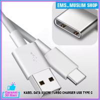 Kabel Data USB Xiaomi Turbo Charger Redmi Note 9 Pro ORIGINAL 100% 5A - Putih