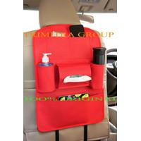 Car Seat Organizer Back Seat Organizer/Tas Blkg Jok Mobil Multifungsi - Merah