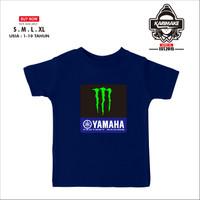 Kaos Baju Anak Motogp Yamaha Factory Racing Monster Energy - Karimake
