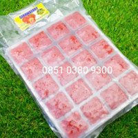 STRAWBERRY TRAY BUAH BEKU KOTAK FROSEN FROZEN