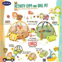Pliko 3in1 Activity PlayGym & BallPit / Mainan Bayi