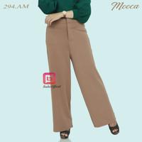 Celana Kulot Wanita - Kulot Panjang Muslim Layer - Celana Kerja Polos