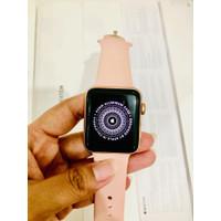 Apple watch iwatch seri 3 38mm rose gold