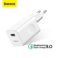 KEPALA CHARGER BASEUS 24W QUICK CHARGER QC3.0