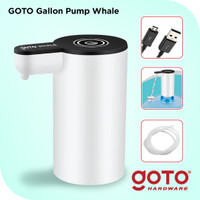 Goto Whale Pompa Galon Dispenser Air Minum Charge Usb Gallon Pump