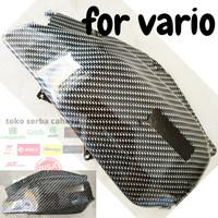 cover filter udara filter hawa variasi karbon vario dan pcx