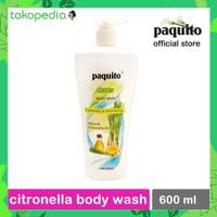 [COXI] SABUN CAIR SEREH PAQUITO CITRONELLA BODY WASH 600 ML