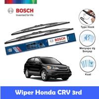 Bosch Sepasang Wiper Kaca Mobil Honda CRV 3rd Gen (2006-2007) 26 & 17