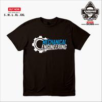 Kaos Baju MECHANICAL ENGINEERING Teknik Mesin Kaos Distro - Karimake
