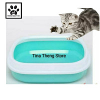 Tempat Pasir Kucing  CAT LITTER BOX JUMBO  Bak Pasir Kucing