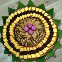 kue tampah bolu surabaya lapis legit jumbo 100 pcs