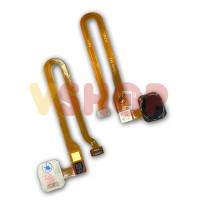 Flexibel Flexible Sidik Jari Fingerprint Oppo F5 Black/Gold - Hitam
