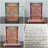 Alquran Al Karim. Alquran Tajwid Terjemah dan Latin A5