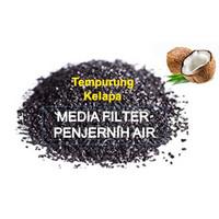 Media filter Penjernih Air (Arang Tempurung Kelapa) Asli Karbon Aktif