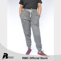 RMC Republic - Celana Jogger Panjang Polos Abu Tua - Jogger Big Size - MISTY TUA, XL