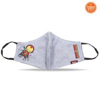 Masker Kain Anak Laki Laki Marvel Iron Man Style C