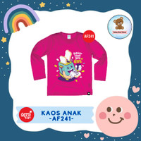 Kaos Anak Afrakids / Baju Anak / Atasan Anak Perempuan (AF241)