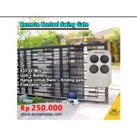 Remote Mesin Autogate Swing Pintu Gerbang Otomatis