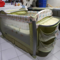 baby box BABYELLE PREMIUM LINE GREEN /SECOND BEKAS