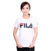 FILA Nusantara Baju Kaos Wanita - White