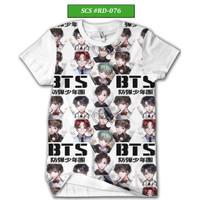 Kaos BTS Army Series Baju BTS Keren dan Trendy #RD-076