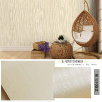 MWD9005 CREAM MOTIF SALUR KREM POLOS WALLPAPER STICKER WALPAPER WALL