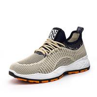 Oisel Sepatu Pria Sneakers Casual Running Sport Fly Knit