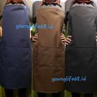 apron masak waterproof premium / apron barista / celemek masak import