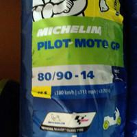 Ban Motor Michelin 80/90 ring 14 Pilot Moto GP Tubeless