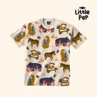 Little Pep Jungle TShirt - Kaos Couple/Kembaran - L