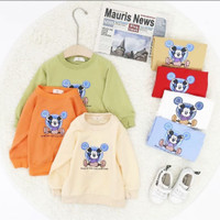 baju hangat sweater import mickey anak bayi laki laki