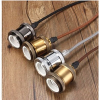 Fitting gantung besi lampu Edison/Filament Retro Classic Vintage