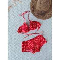 bikini set bra push up celana baju renang pantai seksi wanita B323