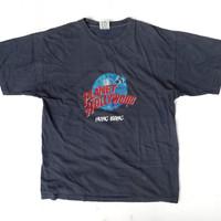T Shirt Vintage Planet Hollywood Hongkong 90s - Kaos Vintage 90s