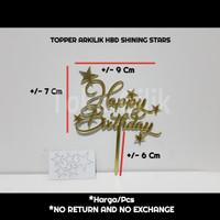 topper+arkilik+hbd+shinning+star+dekor+cupcake+kue+tumpeng+puding+bent