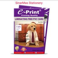 Kertas Foto E Print PVC Card / E Print PVC card Id Laminating