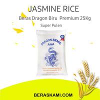 Beras Jasmine Dragon biru/ Beras Vietnam/Beras Pulen Premium - 5 Kg