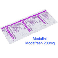 Modafinil Modafresh 200mg 10 tablet - fokus, pintar, konsentrasi