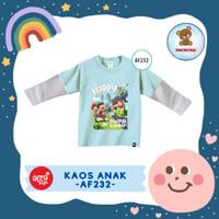 Kaos Anak Afrakids / Baju Anak / Atasan Anak Perempuan (AF232)
