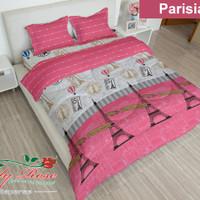 Bedcover+Sprei Lady Rose Parisian (180x200)cm