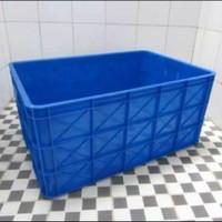 Box Container Rabbit 7033 74x51x35 Keranjang Industri Bak Kolam Ikan