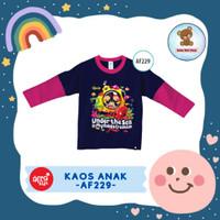 Kaos Anak Afrakids / Baju Anak / Atasan Anak Perempuan (AF229)